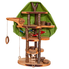Magic Wooden Fairy Tree House - Dollhouse - Bella Luna Toys