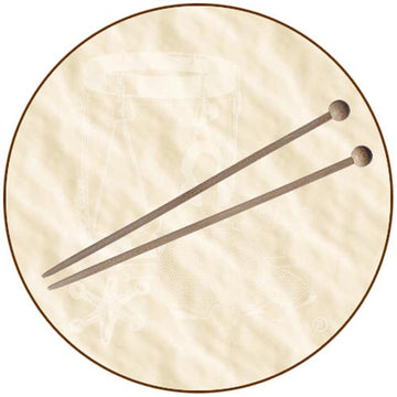 Wooden Knitting Needles, Kids