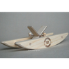 Wooden Paddle Boat Bathtub Toy