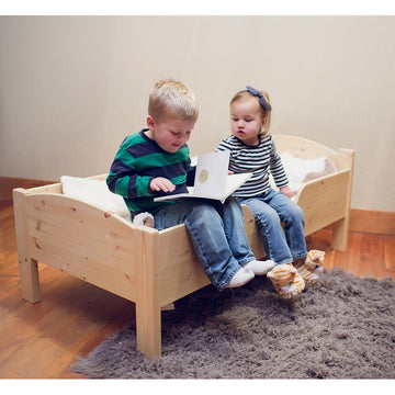 Wooden Toddler Bed Frame - Pine