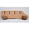 Wooden Toy School Bus, Made in Maine