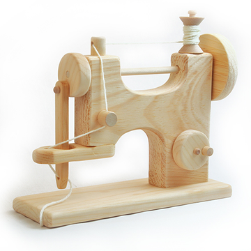 Wooden Toy Sewing Machine, Made in USA