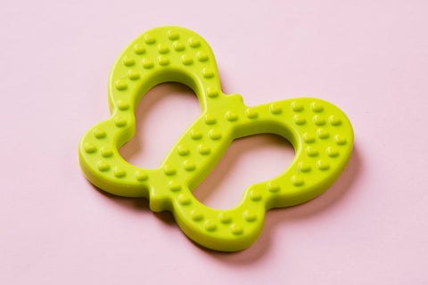 Butterfly Teether Green