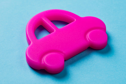 Car Teether Pink
