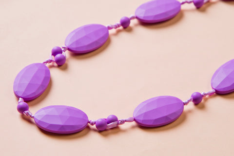 Purple Teething Necklace