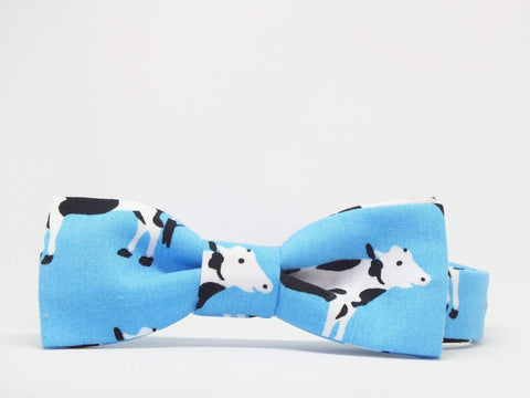 Kids Outfit Bow Tie Cows