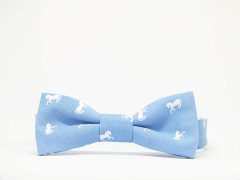 Kids Outfit Bow Tie Horses