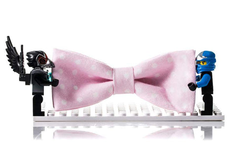 Kids Outfit Bow Tie Pink
