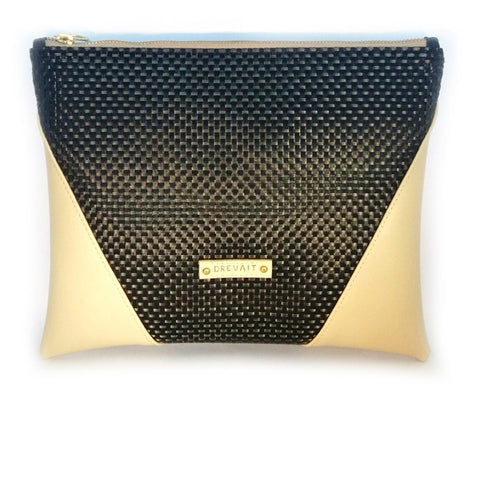 """Vanity"" Pouch (Gold Coal/Crema)"