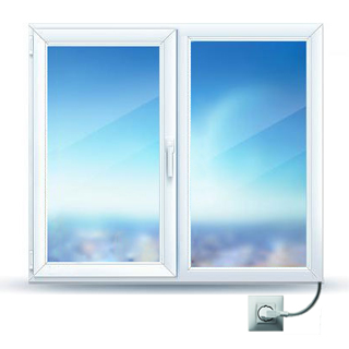 Infrared Heating Glass