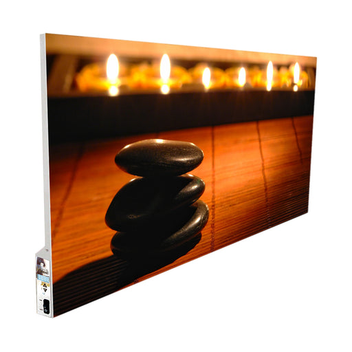 Infrared Heater Picture with built in Thermostat 750W (Metal)-UK Infrared Heating Company