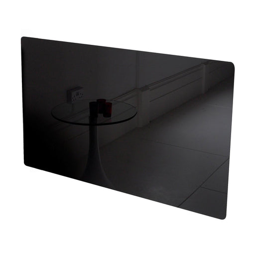 "Far Infrared Heaters ""Glassar"" Black Glass infrared heating Panels. 400W, 600W. 900W.-UK Infrared Heating Company"
