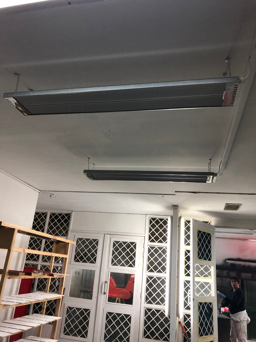 "Far Infrared Industrial Heaters. Commercial Heaters ""PRO"" No Glow Space Heaters. Heating area up to 80m2-UK Infrared Heating Company"