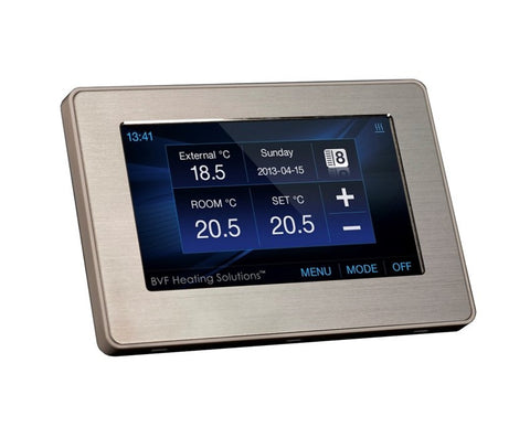SYME Smart thermostat. iOS and Android application.-UK Infrared Heating Company
