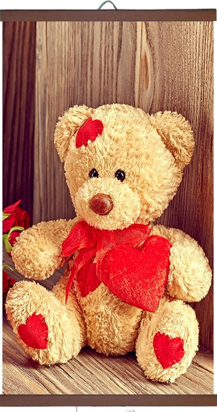 "Wall mounted Picture Heater. Far Infrared Heating Panel 450W ""Teddy Bear""-UK Infrared Heating Company"