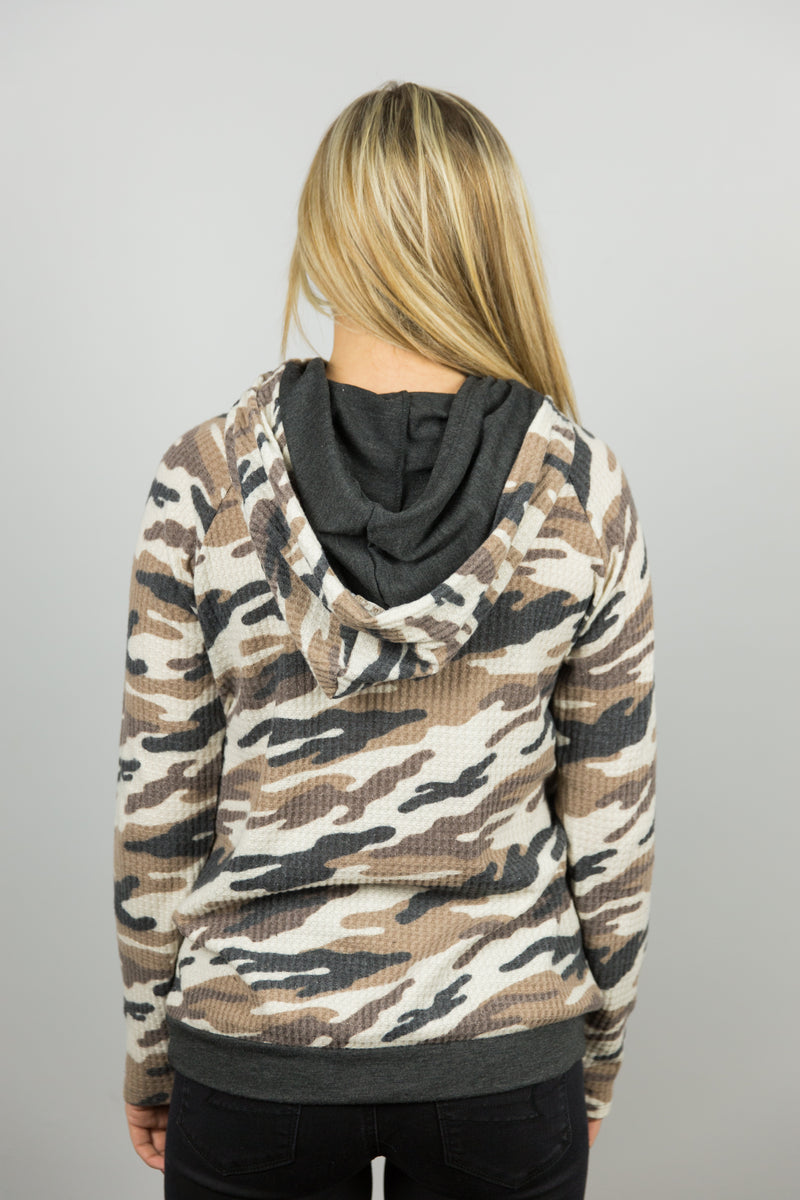 Brown Camo Shirt