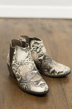 Taupe Snake Boots