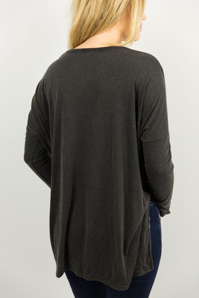 Elysian Long Sleeve Stone Wash Top