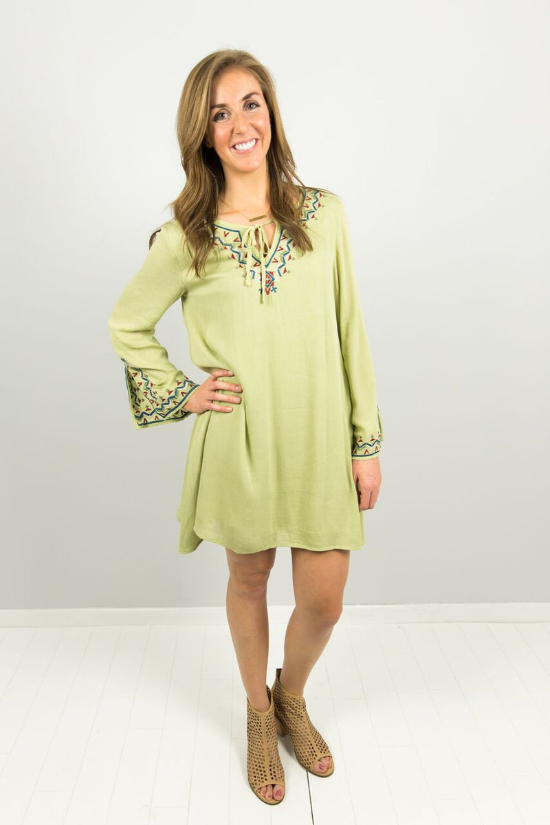 Lime or Reason Dress