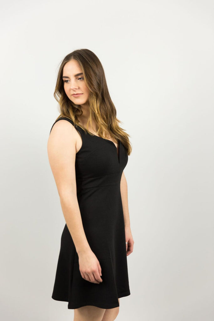 Elysian Black Out Dress