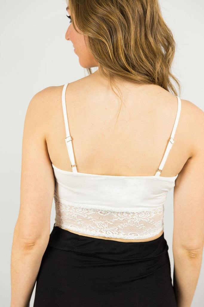 Elysian Lace Crop Top