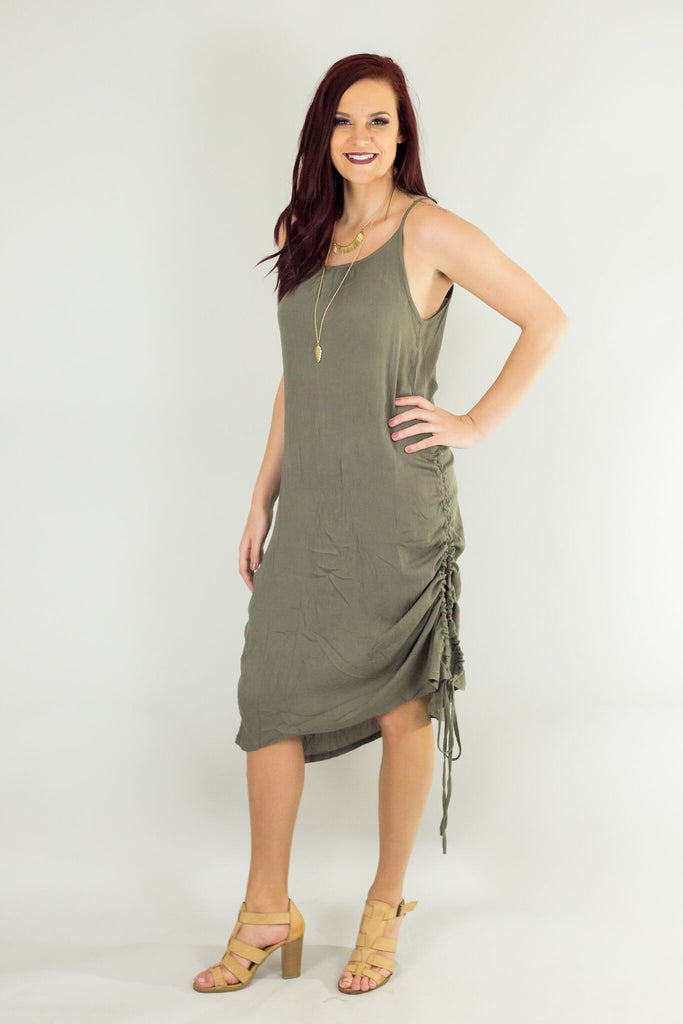 Elysian Sandy Beach Walk Dress
