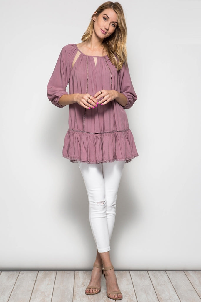 Oversized Tunic Top