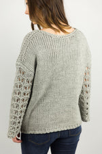 Crochet Sleeve Sweater