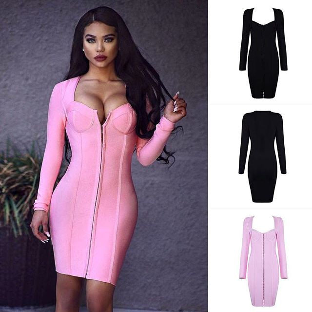 The                              Aadaleena Bandage Dress
