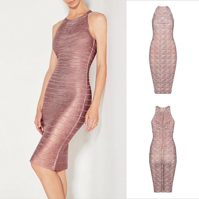The                                    A Anbre Bandage Dress