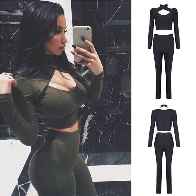 The                                     A nuane Bandage Two piece