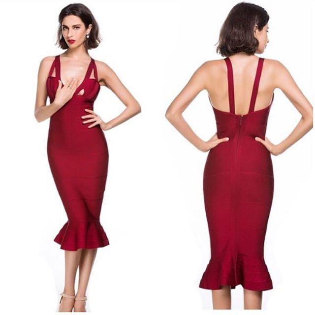 The                       A  Aamella Bandage Dress