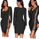 The                                        Avenaena Bandage Dress