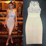 The                                                                           Aaabe Bandage Dress