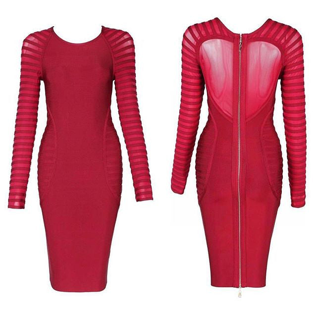 The                                                                                                                                                    Aalaenia Bandage Dress