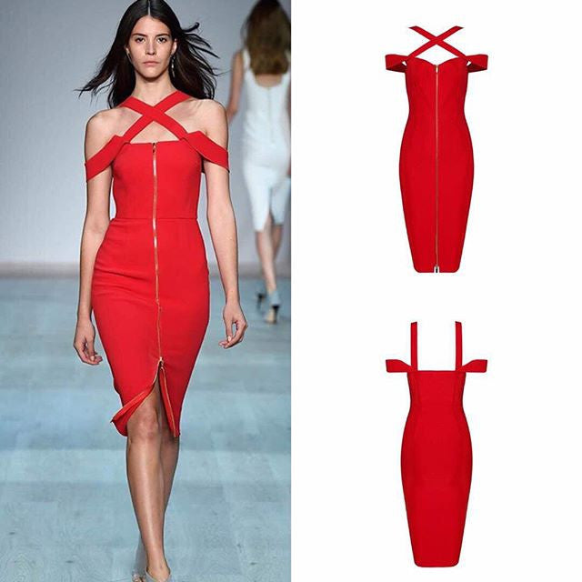 The                                                                                                                                                                                                                               Aaabanie Bandage Dress