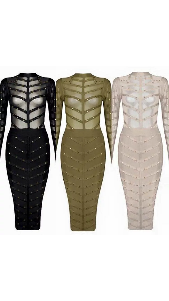 The                         A  Abdubai Bandaged Dress