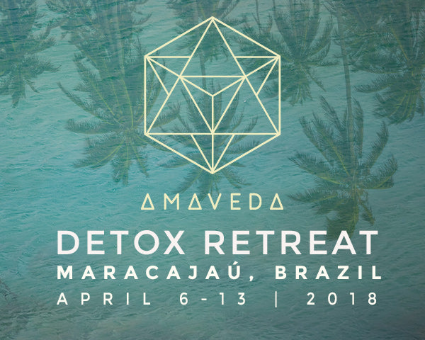 AMAVEDA LUXURY DETOX RETREAT  -  BRAZIL 2018