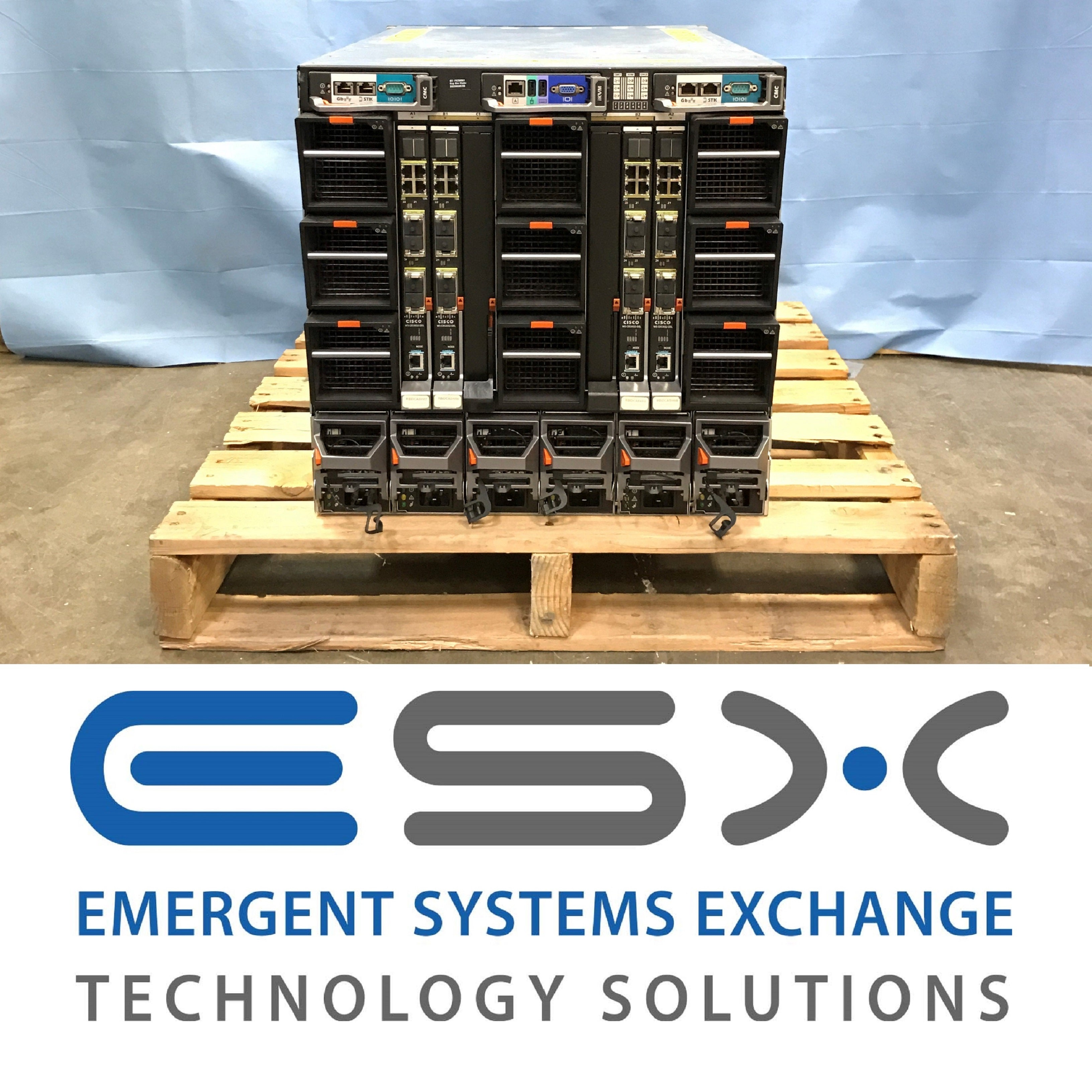 Dell PowerEdge M1000e Blade Enclosure w/ 10x M600 Blade Servers 2x E5450 32GB