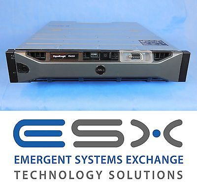 "Dell EqualLogic PS6110XS 7 x 400GB SSD 17 x 600GB 10K 2.5"" SAN Storage"