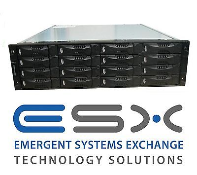 Dell EqualLogic PS5000X 16 x 400GB 10K SAS HDD iSCSI SAN STORAGE
