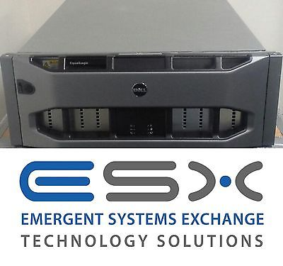 Dell EqualLogic PS6500E 48 x 1TB 7.2K SATA iSCSI SAN Storage - 48TB