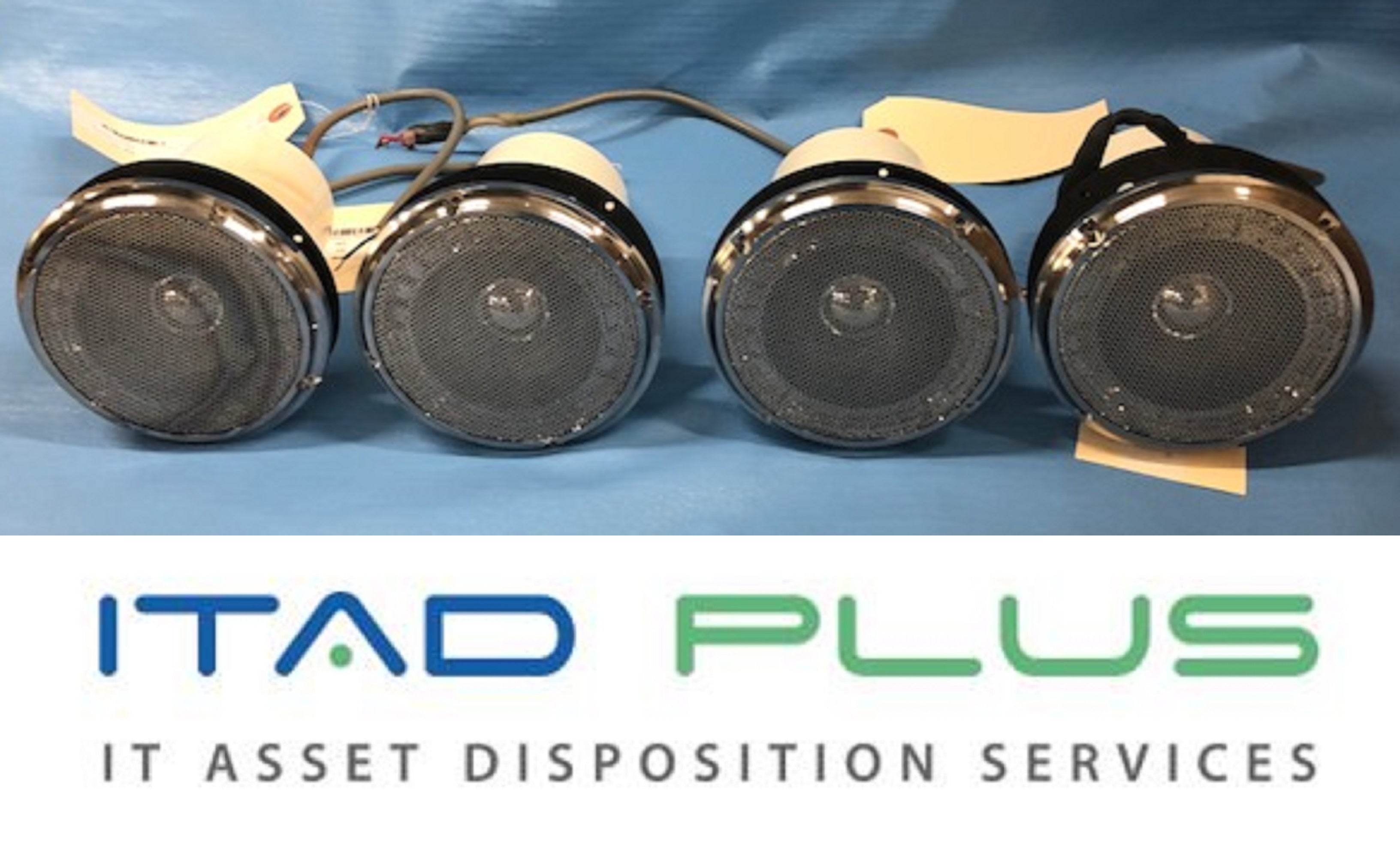 1 Lot of 4 TOA PC-5CL Clean Room Speaker