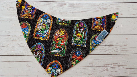 Triforce Warrior <br>Bandana Bib<br>Instock and Ready to Ship
