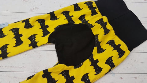 Bat Bum (black accent) <br>Bella Bum Pants<br>Instock and Ready to Ship