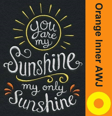 You are my Sunshine DoD Embroidered *PRE ORDER* <br>One Size Cloth Pocket Diaper