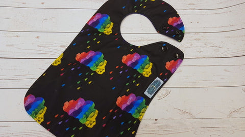 Primary Rain, Waterproof Boutique Bib <br>Instock and ready to ship