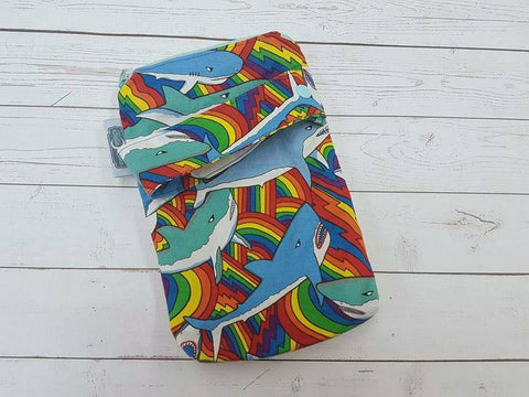 Rainbow Shark, Mini Mama Wetbag<br>Instock and Ready to Ship