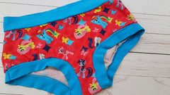 Ponies (Turquoise Accent) Size Med<br>Mama Bella Bottoms<br>Instock and Ready to Ship