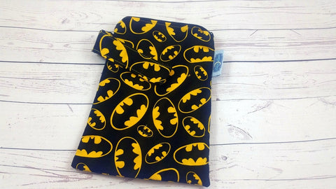 "Batarang 6.5"" x 9""<br>Mini Mama Wetbag<br>Instock and Ready to Ship"